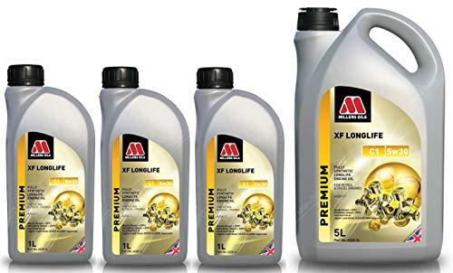 Millers Oils XF Longlife 5w30 C1 volledig synthetische motorolie, 8 liter