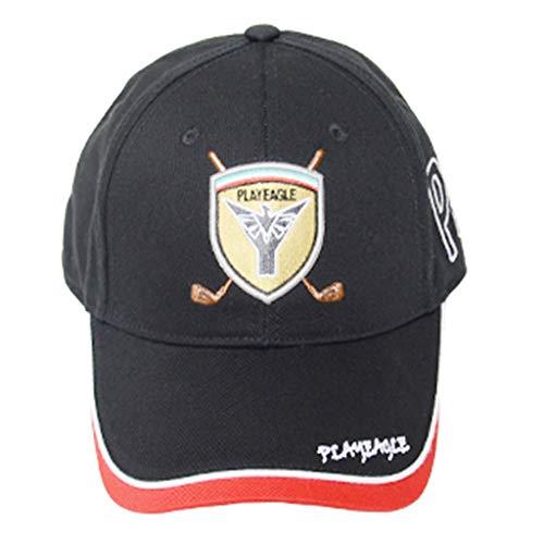 MagiDeal Sombrero de Golf Protector UV Gorras Deportivas Ajustables Running Tennis Baseball Cap Black - negro