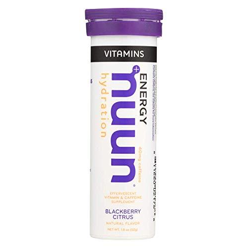 Nuun Vitamins Drink Tablets - Blackbery Citrus - Case of 8 Tubes - 12 TABS