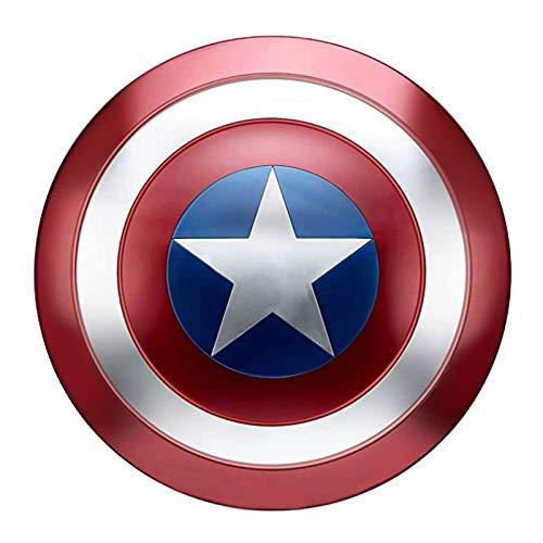 SK MISS - Scudo Capitan America in metallo, 1:1, versione adulto