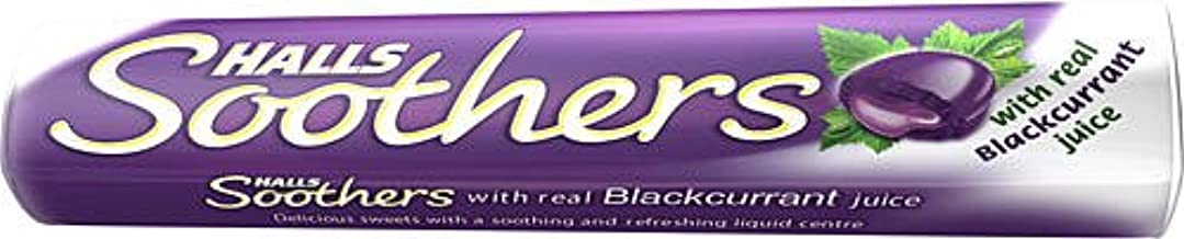 Halls Medicated Cough Drops x5 (Soothers Blackcurrant)