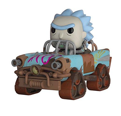 Funko-28456 Rick & Morty Mad MAX Rick Pop Rides, Multicolor, Standard (28456)