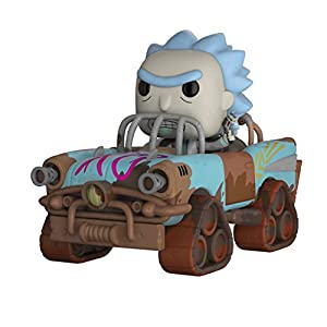 Funko Pop Morty Mad Max (Rick & Morty Rides 37) Funko Pop Rick & Morty