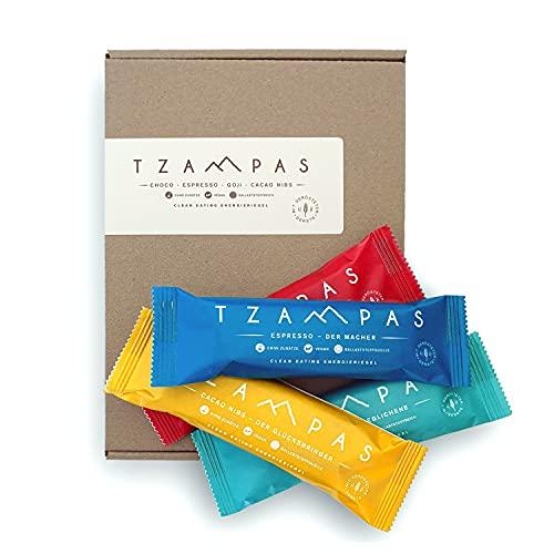 TZAMPAS - Barritas energéticas Clean Eating Mix Box 8 x 40 g.