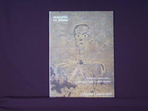 Art Catalogue-DLM 233-ALBERTO GIACOMETTI-Derriere le Miroir-1979