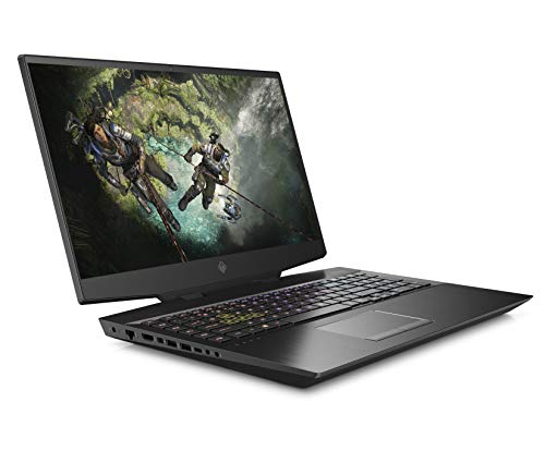 HP OMEN 17-cb1003na 17.3 Inch FHD, 144 Hz Gaming Laptop, Intel Core i7-10750H, 16 GB RAM, 512GB SSD, 1 TB HDD, NVIDIA GeForce RTX 2080 Super (8 GB Dedicated) Graphics, Windows 10 Home - Black