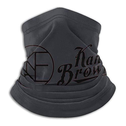 DHGFH Kane Brown Logo Mikrofaser Halswärmer Schal Weiche Elastik Männer Frauen Fleece Gesicht Bandana Cover für Ski Wintersport