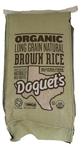 Organic Long Grain Brown Rice - 25 lb.
