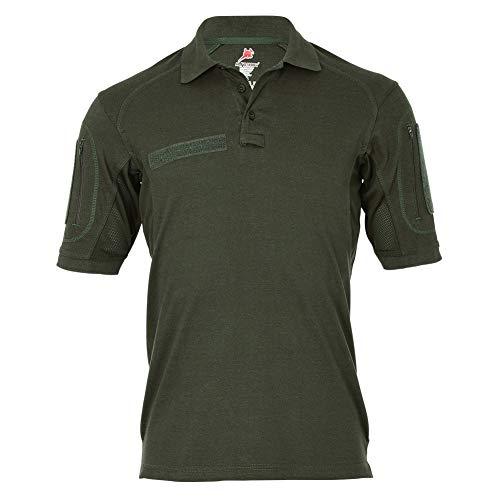 Tactical Poloshirt Weidmannsheil WeiMaHei Jäger Jagdgruß Glückwünschen Eber Jagd Polo Shirt Hemd #19064, Größe:3XL (XXXL), Farbe:Oliv