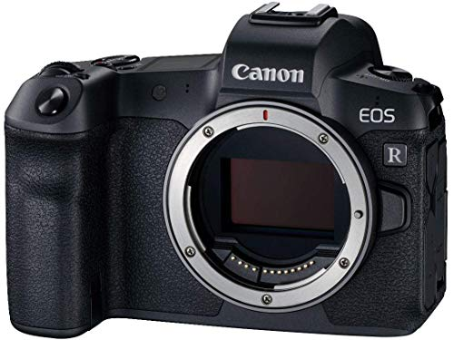 Canon EOS R Vollformat Systemkamera Gehäuse + Bajonettadapter EF- EOS R (30,3 MP, 8,01 cm (3,2 Zoll) Clear View LCD II Display, DIGIC 8, 4K Video, WLAN, Bluetooth) schwarz
