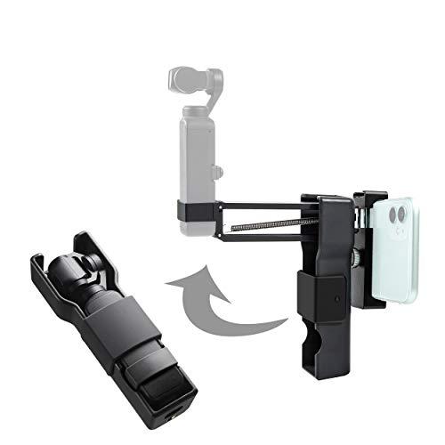 TOMAT OSMO Pocket 2 Tragetasche Schutz Aufbewahrungsbox Handheld Z-Achse Stabilisator 2 in 1 für DJI Pocket 2/OSMO Pocket Zubehör