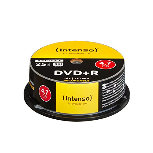 Intenso -   DVD+R 4,7 GB 16x