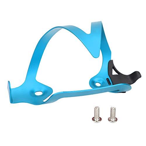 Aleación De Aluminio Bicicleta Titular De La Botella De Agua Caldera Caza Ciclismo Accesorio Azul