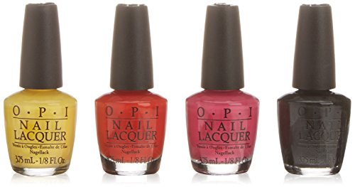 OPI Nail Polish Mini Kit - Lets Get Wicked, 1er Pack (1 x 15 ml)