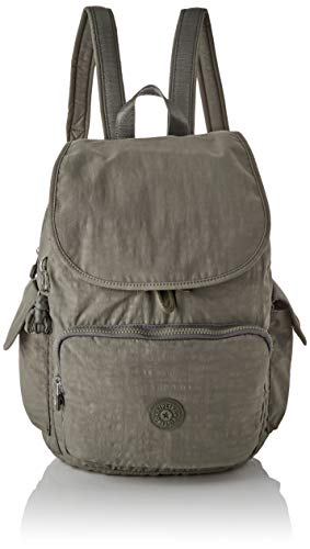 Kipling City Pack, Mochilas para Mujer, Verde (Seagrass), 32x37x18.5 cm
