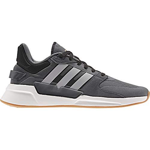 adidas Herren Run90s Laufschuhe, Gricin/Grasua/Negbás, 41 1/3 EU
