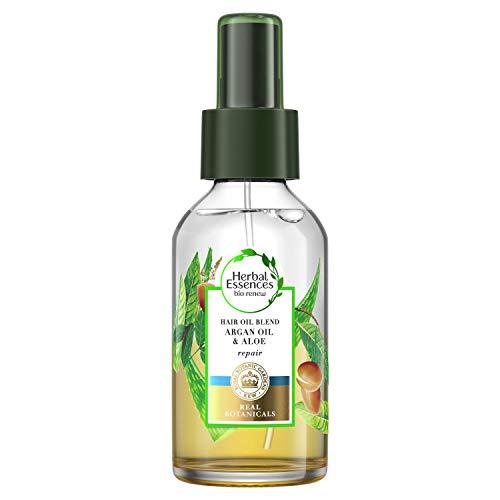 Aqua Óleo Herbal Essences Babosa & Óleo de Argan 100Ml, Herbal Essences
