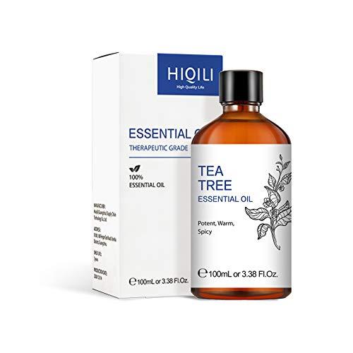 Aceite de árbol de té para el cuidado del cabello y la piel, aceite esencial de árbol de té de Australia puro natural para difusor, 100 ml