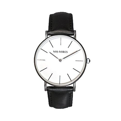 Vis Vires Visionnaire orologio da uomo, 40mm, colore: Argento