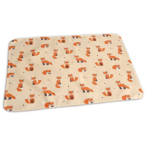 Renforts de matelas à langer portatifs de Fox pour matelas à langer pour lit de poussette de voyage 27.5x19.7\