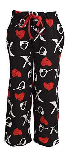 Unique Baby Valentine's Day XOX Mommy Daddy and Me Pajama Pants (Adult L)