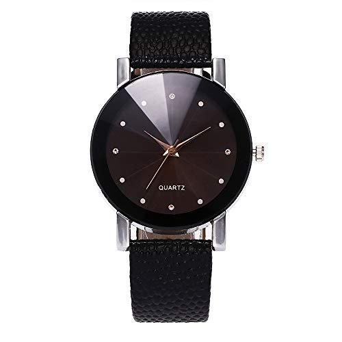 Damen römische Ziffern Stahlarmband Uhr exquisites Design Sport Chronograph schwarz Edelstahl Uhr Design Geschäftsdatum Kalender stilvolle analoge Quarzuhr Chronograph Quarzuhr mit Lederarmband