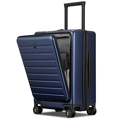 LEVEL8 Maleta de transporte, 50,8 cm con bolsillo frontal, cerraduras TSA