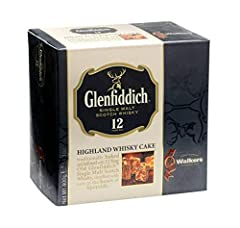 Highland Whisky Fruit Cake: This deliciously moist and aromatic fruit cake offers a Scottish twist on a traditionally baked favorite, featuring the taste of 12 year old Glenfiddich Malt Whisky Superior Ingredients: Our expert bakers mix spicy, succul...