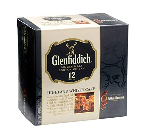 Walkers Shortbread Glenfiddich Highland Holiday Whisky Cake, 14.1 Ounce Box