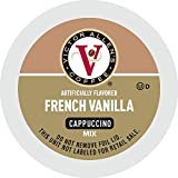 Victor Allen's Coffee French Vanilla Flavored Cappuccino, 42 Count Single Serve Coffee Pods for Keurig K-Cup Brewers