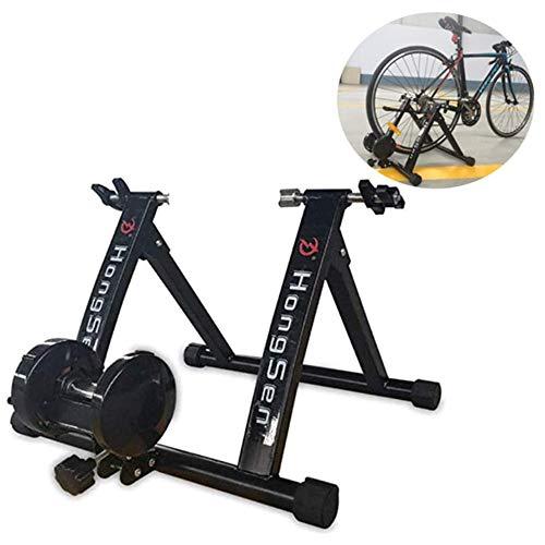 ZHANG Fietstrainer voor fietsen, inklapbaar, indoor rol, trainer, fietsen, turbotrainer voor fietsen 24-27 inch of fiets 700C