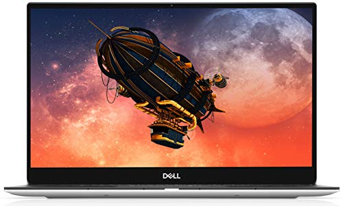 Dell XPS 13 7390 13.3 Inch FHD InfinityEdge Laptop, Intel Core i5-10210U Processor (4.2 GHz), 8 GB RAM, 256 GB NVMe SSD, Fingerprint Reader, Windows 10 Home, silver