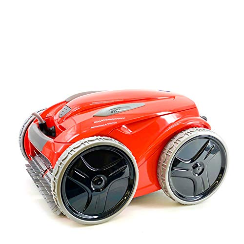 Zodiac FR 5200 4WD Red Robot limpiafondos Piscina (Suelo, Pared, Linea de flotación) Tecnología Vortex, Rojo