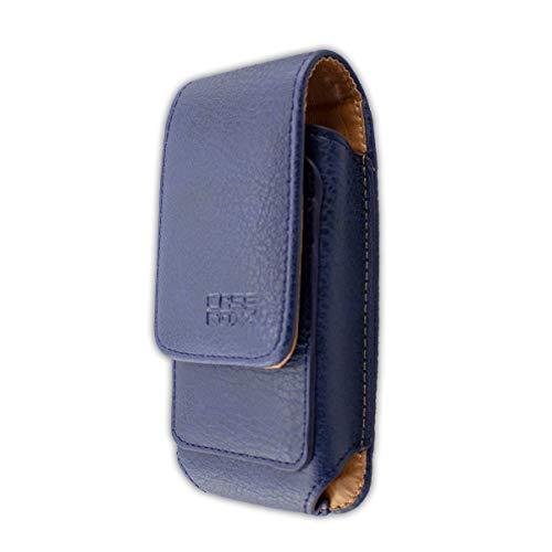 caseroxx Handy Tasche Outdoor Tasche für RugGear RG150, mit drehbarem Gürtelclip in blau