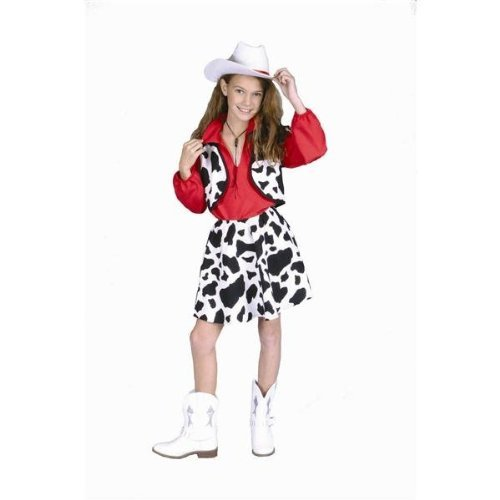 RG Costumes Cowgirl Costume, Child Small