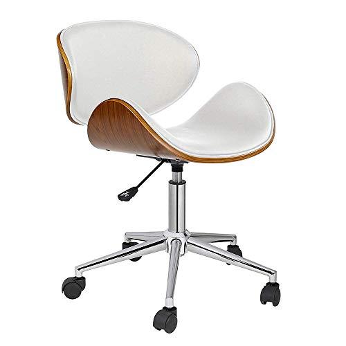 Silla de oficina, una silla de oficina ejecutiva con clase, con 5 ruedas giratorias Easy Glide ajustables en altura, giratoria de 360 grados, tamaño de silla de oficina en casa;24 x 23 x 35 pulgadas
