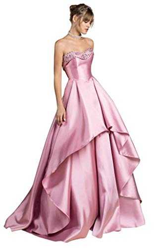Kaiyanaat Satin Girls/Womens Gown