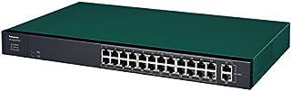 パナソニックESネットワークス 26ポート PoE給電スイッチングハブ GA-AS24TPoE+ PN25248