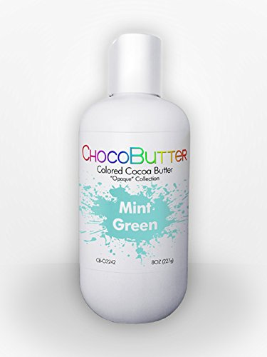 Mint Green - Colored Cocoa Butter