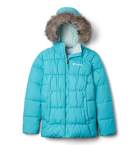 Columbia Mädchen Ski-Jacke, Gyroslope, Blau (Geyser), M