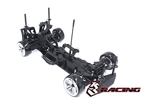 3Racing RC Model KIT-D4ARWDS/BK 3RACING Sakura D4 1/10 Drift Car (RWD - Sport Black Edition) - Pre-Assembled