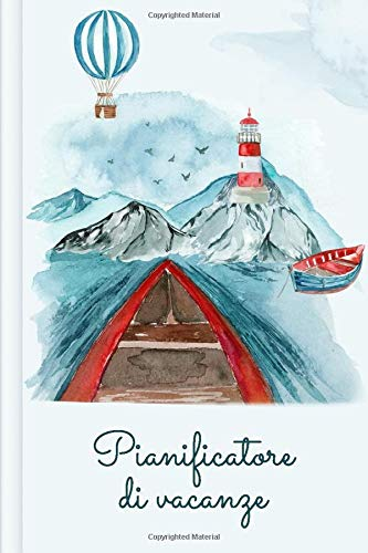 Pianificatore di vacanze: Con packing list + lista delle cose da fare + itinerario + agenda | Design: Norvegia