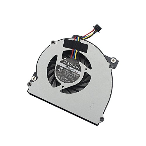 GGZone - Ventilador de refrigeración para CPU para HP EliteBook 2560, 2570, 2560p, 2570p, DFS451205MB0T, FA5T, 6033B0024501, 651378-001, DC5V, 0.4A