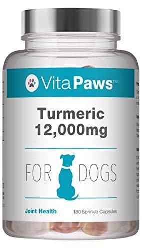 VitaPaws™ Kurkumin 12.000mg - für Hunde - 180 Streukapseln - SimplySupplements