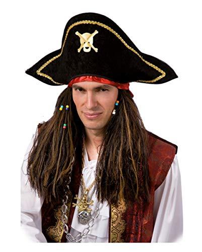 Horror-Shop Pirate Perruque Pirate