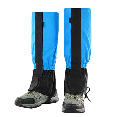 behone 1 Paar Schnee Legging Gamaschen, Outdoor Gamaschen, wasserdichte Gamaschen Gaiter für Outdoor Hosen zum Wandern, Klettern und Schneewandern Wandernde Gehende Kletternde Jagd