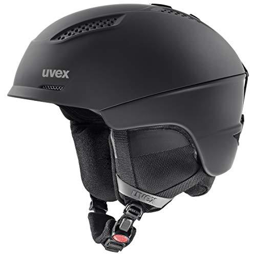 uvex Unisex– Erwachsene Ultra Skihelm, black mat, 55-59 cm