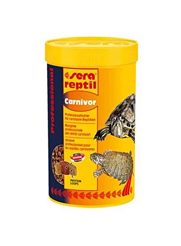 Sera Reptil - Alimento profesional para reptiles carnívoros, 100 ml x 3 unidades