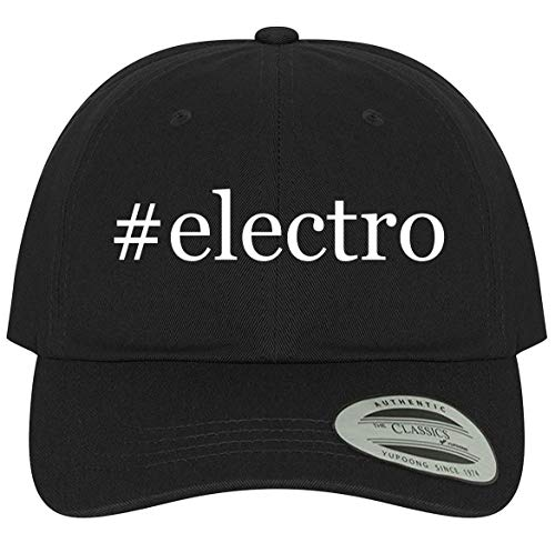 The Town Butler #Electro - A Comfortable Adjustable Dad Baseball Hat, Black, One Size