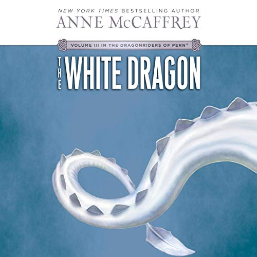 The White Dragon audiobook cover art